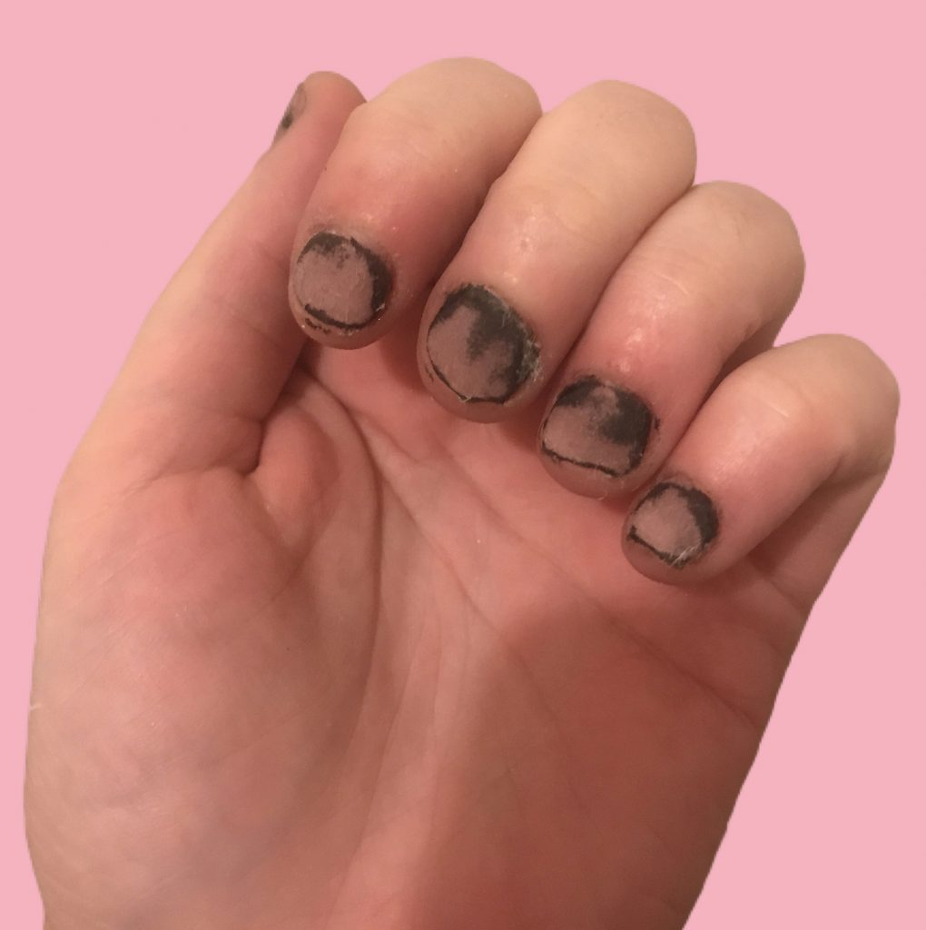 Caroline Nierman Dip Powder Nails Removal Fail 1